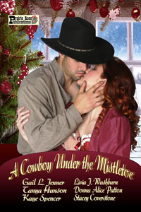 stacey coverstone's A Cowboy Under the Mistletoe